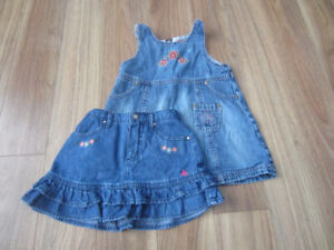 TODDLER GIRLS SUMMER CLOTHES - SIZE 2T - $12.00 for LOT (6 ITEMS