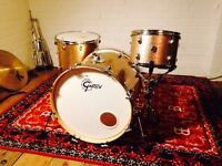 "£500 ONO Gretsch Drums Catalina Club 22"" 3 Piece Kit, Copper Sparkle"