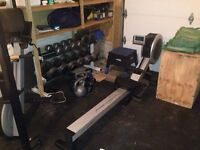Frequency fitness/ lifecor r100 rower