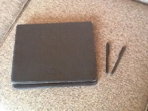 iPad cover and stylus