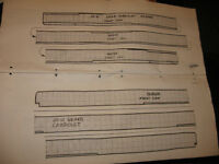 """woodworking plans for headers & top bows for 29-31 Model """"A"""""""