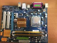 Gigabyte GA-G31M-ES2L, E8400 CPU & 2GB DDR2-667 RAM