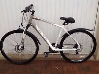 Carrera Crossfire 3 Gents hybrid bike