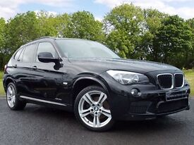 BMW X1 2.0 18d M Sport xDrive 5dr (black) 2012