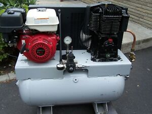 9HP HONDA GAS 2  STAGE AIR COMPRESSOR
