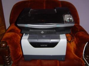 TWO PRINTERS,ONE BROTHER AND ONE LEXMARK