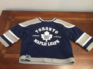 size 2 Child's Toronto Maple Leaf Jersey