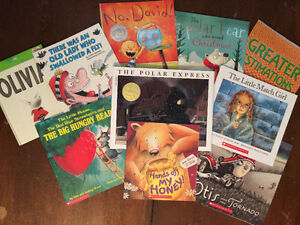 10 children's books & 12 chapter books for sale
