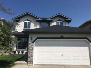 Two story with 4 bedrooms in Harvest Hills availble on Nov. 1