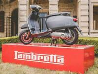 Lambretta V 50cc Special Modern Classic Retro Automatic Scooter Moped For Sal...
