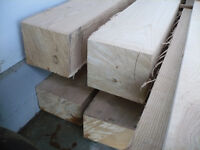 Wooden wagon stringers