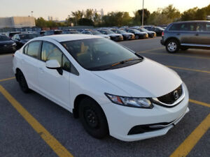 2013 Honda Civic LX 4 door ( Rebuild tittle )