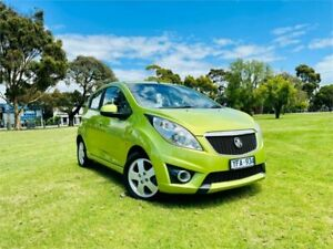 2010 Holden Barina TK MY11 Green 5 Speed Manual Hatchback Dandenong Greater Dandenong Preview