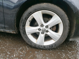 "Vauxhall Astra J alloy 17"" 5x105pcd"