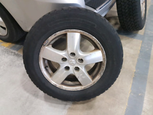 215 65 16 x 4 Winter Tires and Rims