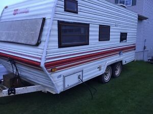 1984 19' prowler travel trailer