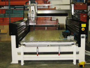Pavoni CNC Router & Used Cold Saw