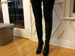 Aldo above the knee boots size 8