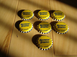 Formosa Springs Water Bottling Caps- Never Used - Lot of 60 Kitchener / Waterloo Kitchener Area image 2
