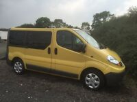 Renault Trafic 9 Seat minibus 56 plate SL27 90