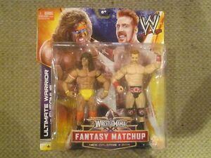 WWE Ultimate Warrior & Sheamus Basic Figures