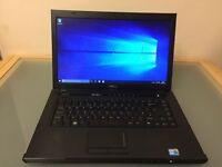 "Dell Vostro Laptop 15.6"" Windows 10 Intel i3,4GB Ram,250GB HD,DVD Writer"