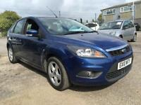 2010 Ford Focus Hatch 5Dr 1.6 100 Zetec Petrol blue Manual
