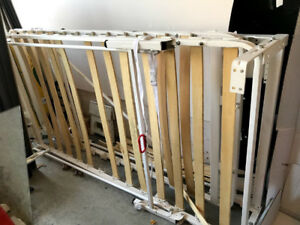 Murphy wall bed twin size with all mechanics but no cabinet