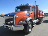 NEW 2014 MACK GU813 HEAVY GRAVEL TRUCK