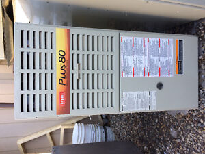 Bryant Plus 80 mid efficiency natural gas furnace for sale.
