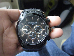 AUTHENTIC Michael Hill Watches Men's Chronograph Watch ,
