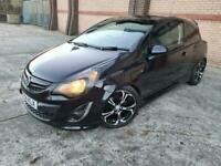 2014 Vauxhall Corsa 1.4 i 16v Black Edition (s/s) 3dr (a/c) Hatchback Petrol Man