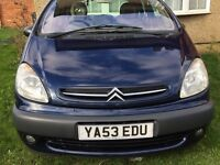 2003 MODEL Citroen XSARA PICASSO HDI EXCELLENT CONDITION /FORD/TOYOTA/BMW/NISSAN/SEAT/VOLVO V 40
