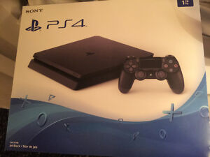 The last PlayStation 4 with the most To , still in the box,
