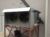 Air-dyne Glycol water chiller ice cream yogurt machine Cooler
