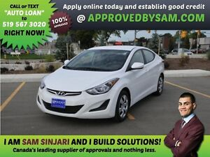 ELANTRA - APPLY WHEN READY TO BUY @ APPROVEDBYSAM.COM
