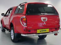 2014 Mitsubishi L200 Double Cab DI-D Barbarian 4WD 176Bhp Diesel red Manual