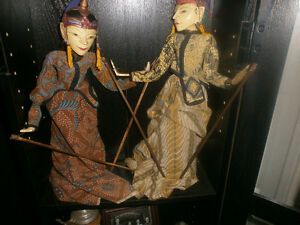 Indonesian Puppets. London Ontario image 2