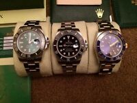 Men's Rolex Submariner Swiss ETA 2836