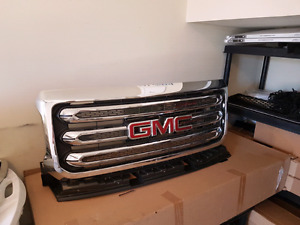 GMC Canyon and Chevy Colorado Grille