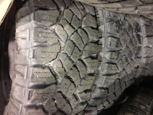 tires ford f150 good year duratracs 275/65 R18 AND RIMS