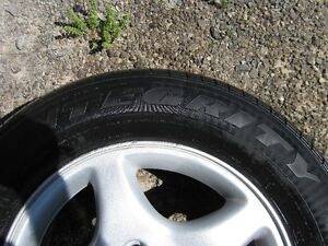 Goodyear Integrity 225/60r16 97s tires, excellent condition (4) Peterborough Peterborough Area image 4
