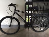 Muddy Fox Ascent Mountain bike and accessories.
