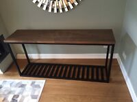 Solid Oak Console Table - Fantastic Condition