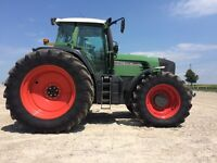 Fendt Tractor FWA  918 with MAN engine Vario IVT Reversable cab