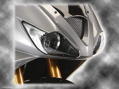 TRIUMPH DAYTONA 675 06 08DARK TINT HEADLIGHT PROTECTOR