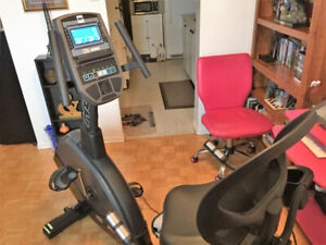 One BH S3Rib recumbent exercise bike for sale.