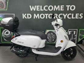 SYM FIDDLE III 125cc Modern Retro Classic Scooter Learner Legal Twist and Go
