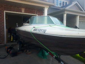 15 foot boat motor and trailer