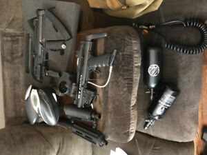 Paint ball set up for sale